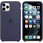 Brand New Apple iPhone 11 Pro Midnight Blue Silicone Case