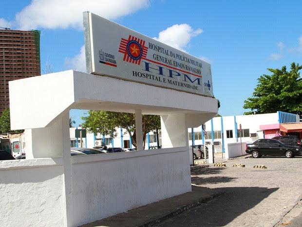 Hospital Edson Ramalho, em João Pessoa (Foto: Rizemberg Felipe/Jornal da Paraíba)