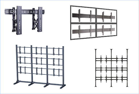 Modelo de soportes para video wall | Bases y Soportes TV