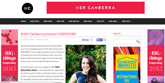 Her Canberra feature