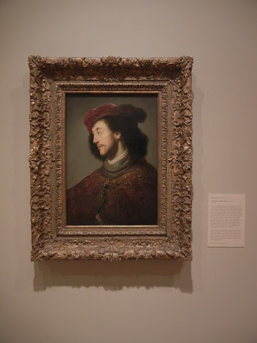 DSCN7590 _ Young Man with Red Berret, c.  1629-1630, Jan Lievens (1607-1674), Norton Simon Museum, July  2013
