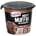 FlapJacked - Mighty Muffin with Probiotics - Double Chocolate (Single Serving) - Mixes