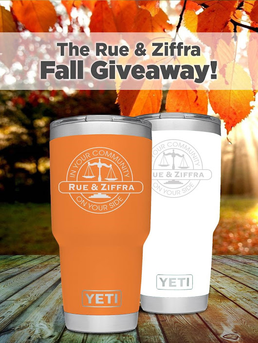 Enter to Win One of (2) Yeti Tumblers From Rue & Ziffra!