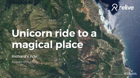 Relive 'Unicorn ride to a magical place'