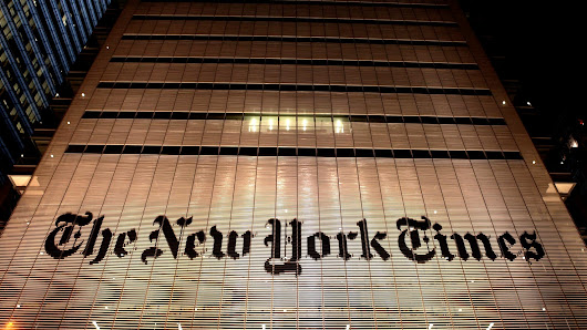 'New York Times' Announces Appointment Of Anonymous Source As Editor-In-Chief