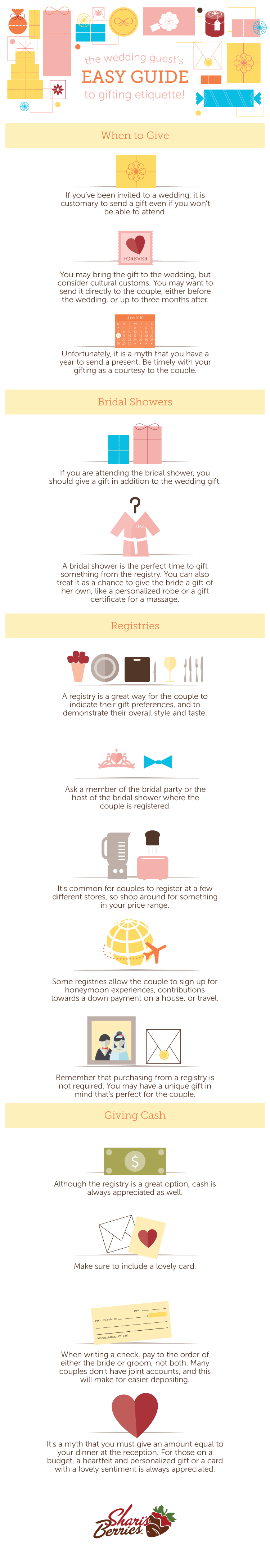 The Wedding Guest's Easy Guide To Gifting Etiquette! # ...