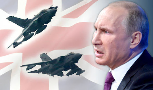 Cold War 2015: Russia 'FURIOUS' after RAF pilots cleared to shoot down Moscow warplanes