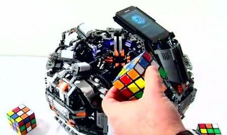 Cubestormer II, el robot que puede resolver un cubo Rubik en 5 segundos