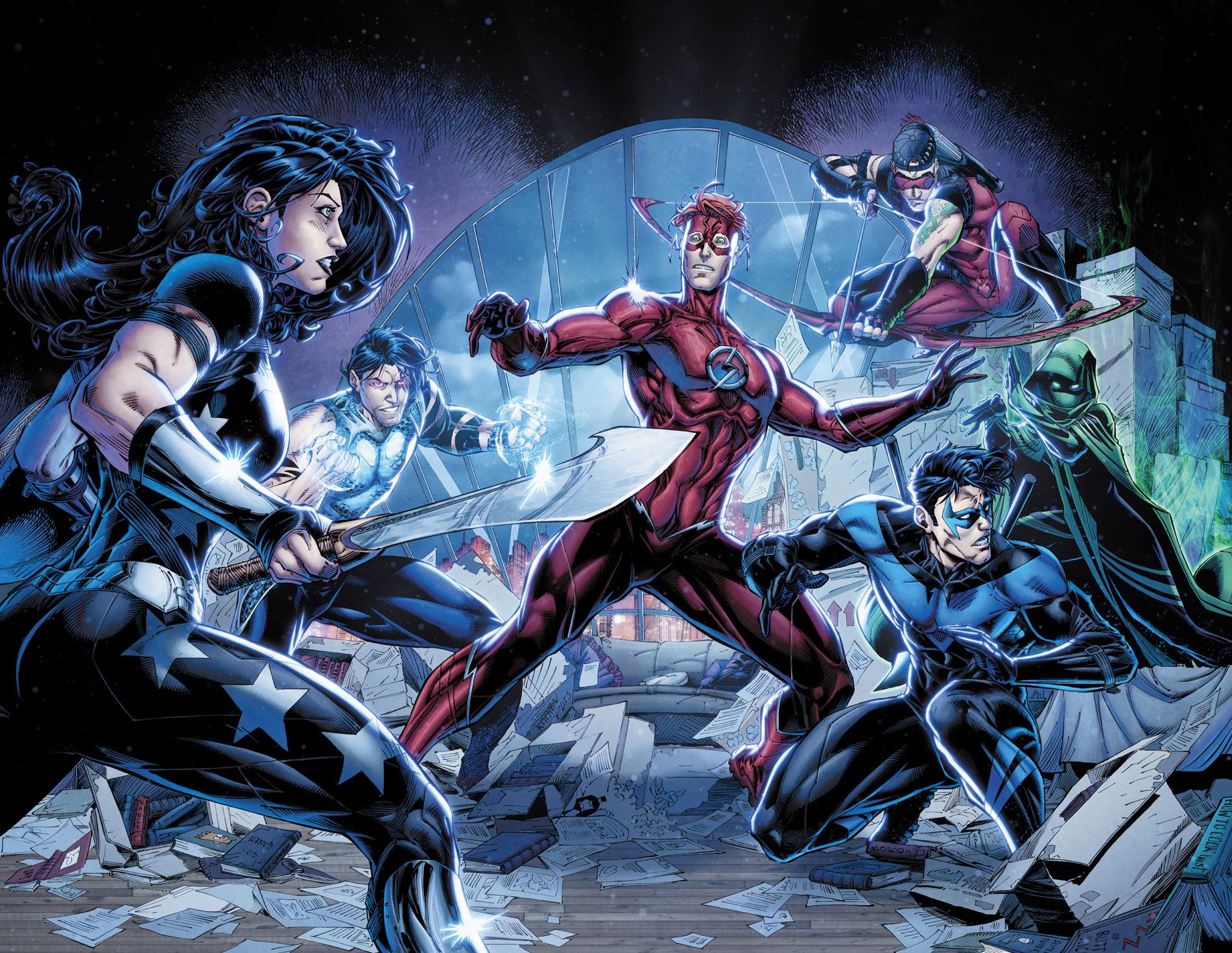 Resultado de imagem para titans rebirth