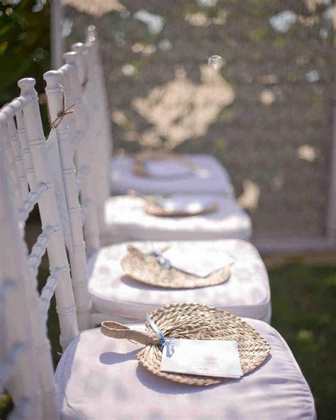 Unique Wedding Ceremony Programs   Martha Stewart Weddings