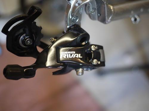 Hybrid bike gear swap 11:24 -> 11:32