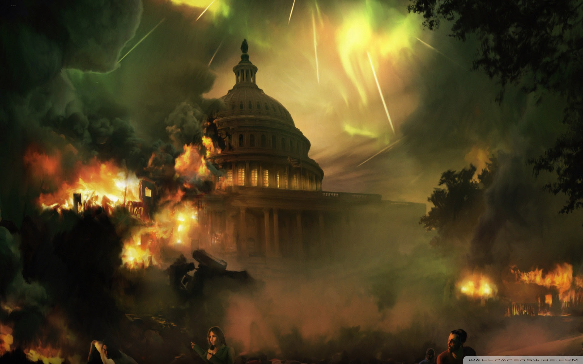 End Of The World Painting Ultra Hd Desktop Background Wallpaper