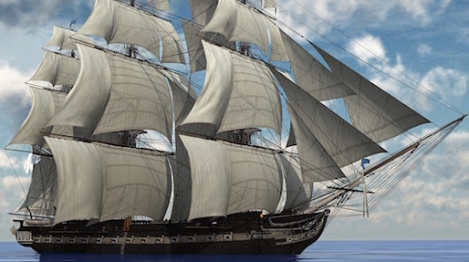 "Frigate: ""Man-O-War"" or Pirate Ship Chaser? 