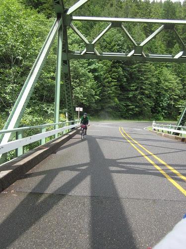 David, last bridge on the ascent