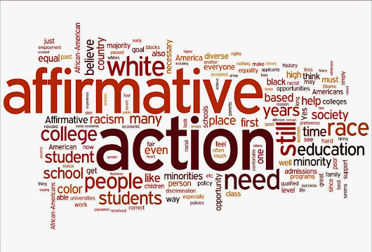 Is Affirmative Action a Good thing or a Bad thing?