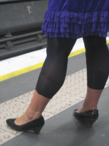 Leopard Skins Wedgies and Ra Ra Skirt