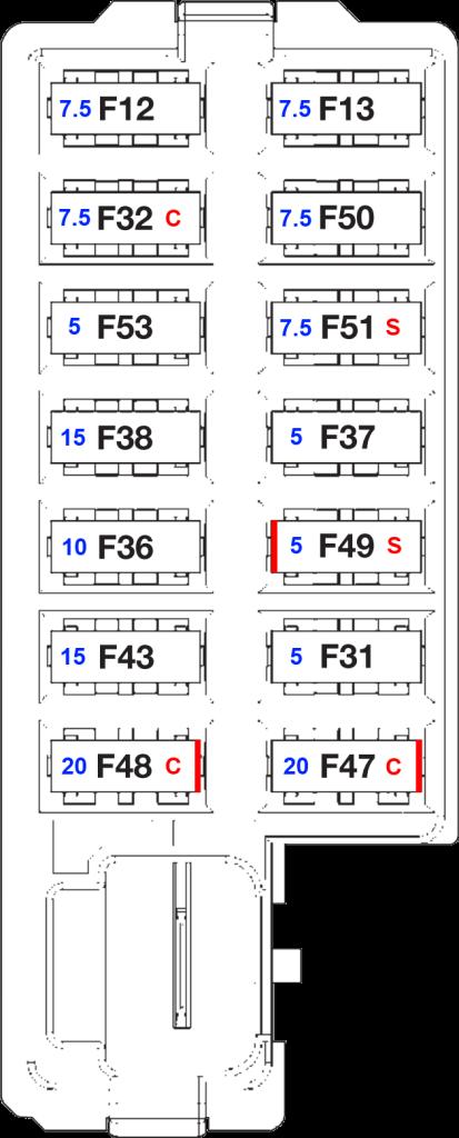 2013 Chrysler 200 Fuse Diagram