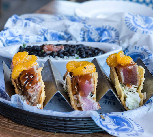 VISIT the SOUTH™with Tammy Lee BradleySeared Tuna Tacos