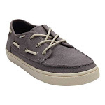 Men's TOMS Dorado Boat Shoe, Adult, Size: 10 M, Shade Heritage Canvas