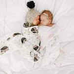 "Lala IKAI Muslin Cotton Swaddle 47 x 47"" cm Baby Gifts Baby Gauze Fruit Bath Towel Multifunction Swaddle Baby Blanket (Hedgehog)"