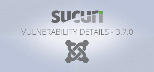 SQL Injection Vulnerability in Joomla! 3.7