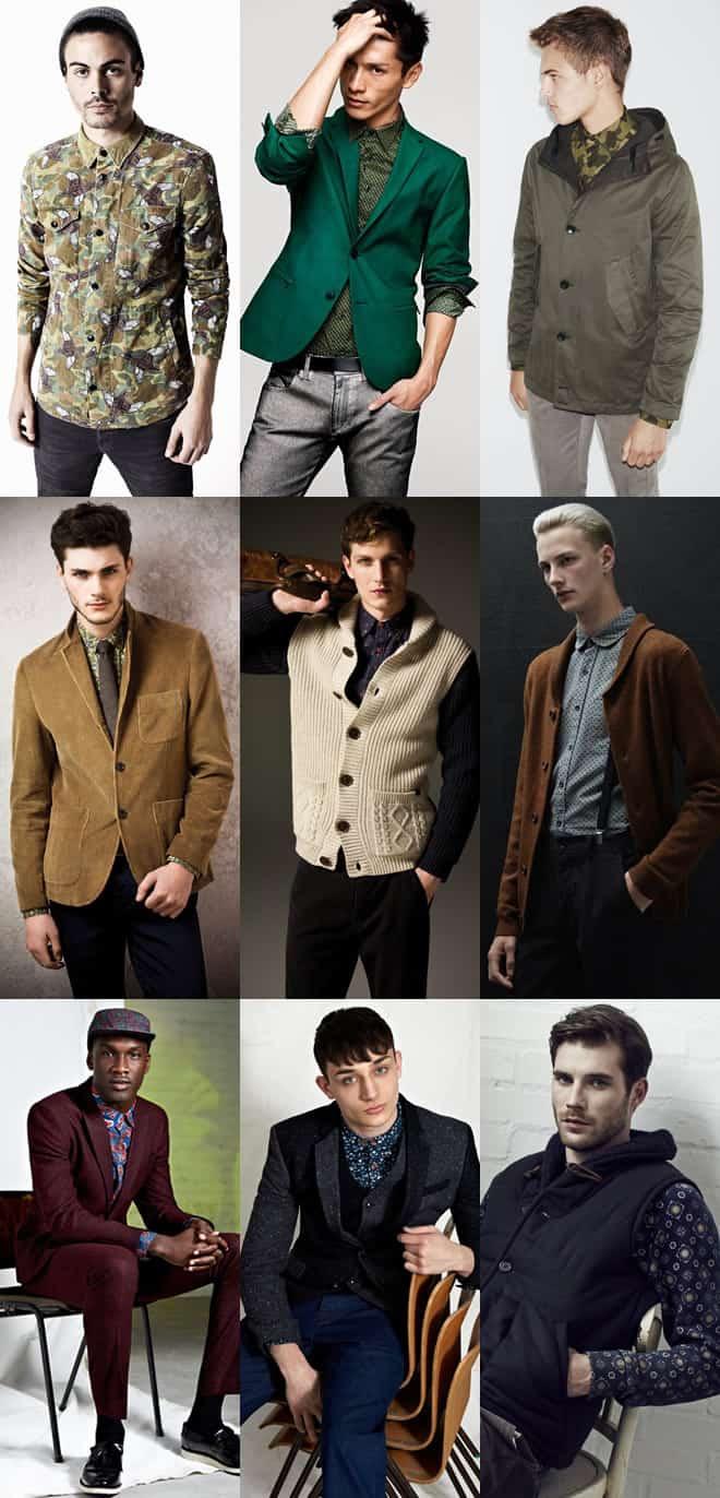 Men's AW12 Printed Shirt Lookbook