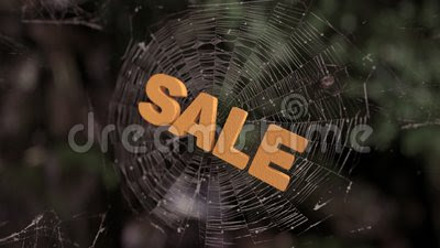 Spider Web Sale Abstract Stock Video - Video: 63610543