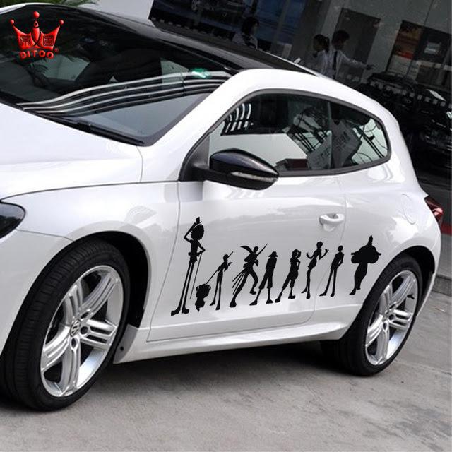 Jual PROMO Stiker Mobil Minion Karakter Kartun Cutting ...