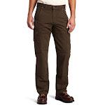 Carhartt Men's Ripstop Cargo Work Pants, Dark Coffee