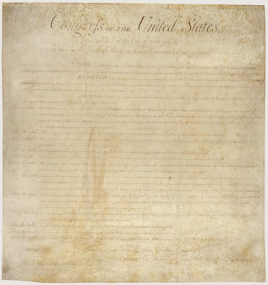 The Bill of Rights: A Transcription