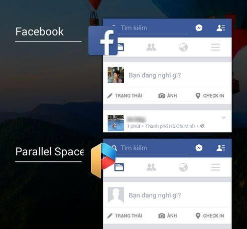 Đăng nhập nhiều tài khoản facebook trên thiết bị Android