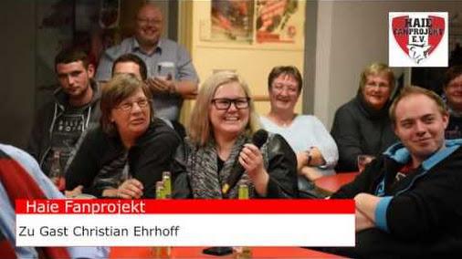 Fanprojekt Stammtisch mit Christian Ehrhoff