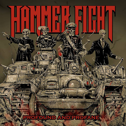 HAMMER FIGHT (Filthy Rock/Metal/Punk - US) sortira son nouvel album intitulé   Profound and Profane