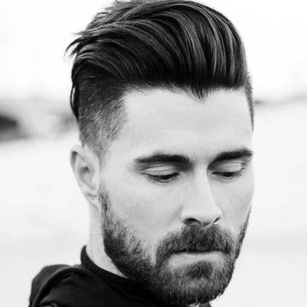 Mittlerer Länge Frisuren Dickes Haar Für Herren Kunstopde