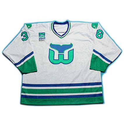 Hartford Whalers 2011 Alumni jersey