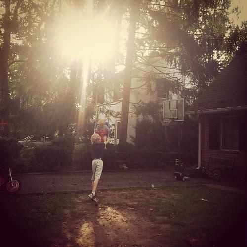 Swinging as the sunrises...