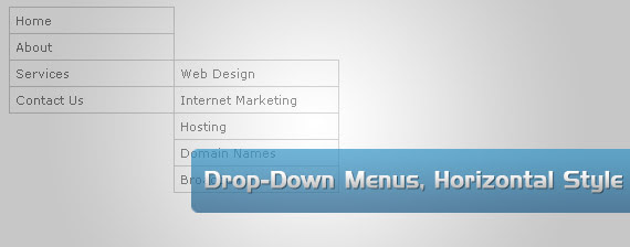 horizontal-style-drop-down-multi-level-menu-navigation