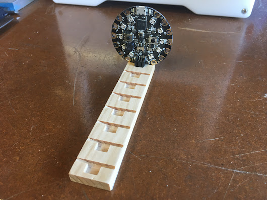 CNC Circuit Playground Holder