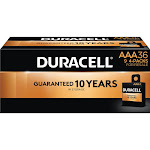 Duracell Coppertop Alkaline AAA Batteries for Resale (36