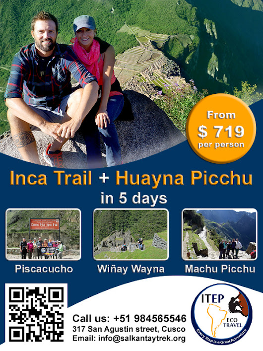Classic Inca Trail + Huayna Picchu in 5 days