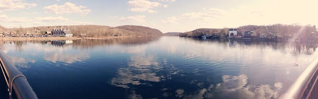 Lambertville and New Hope.