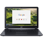 "Acer 15 CB3-532-C42P 15.6"" Chromebook - Celeron N3060 1.6 GHz - 4 GB RAM - 16 GB SSD - Granite Gray"