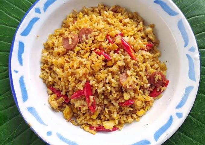 Cara Mudah Membuat Nasi Goreng Kampung Yang Enak