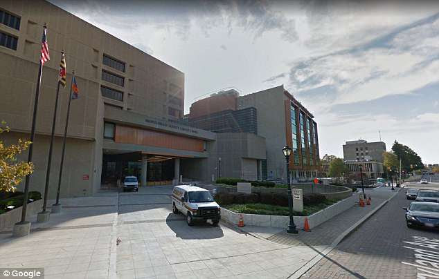 A Google Street image of Montgomery County courthouse is shown here, which is where Mora's trial is scheduled to begin in October