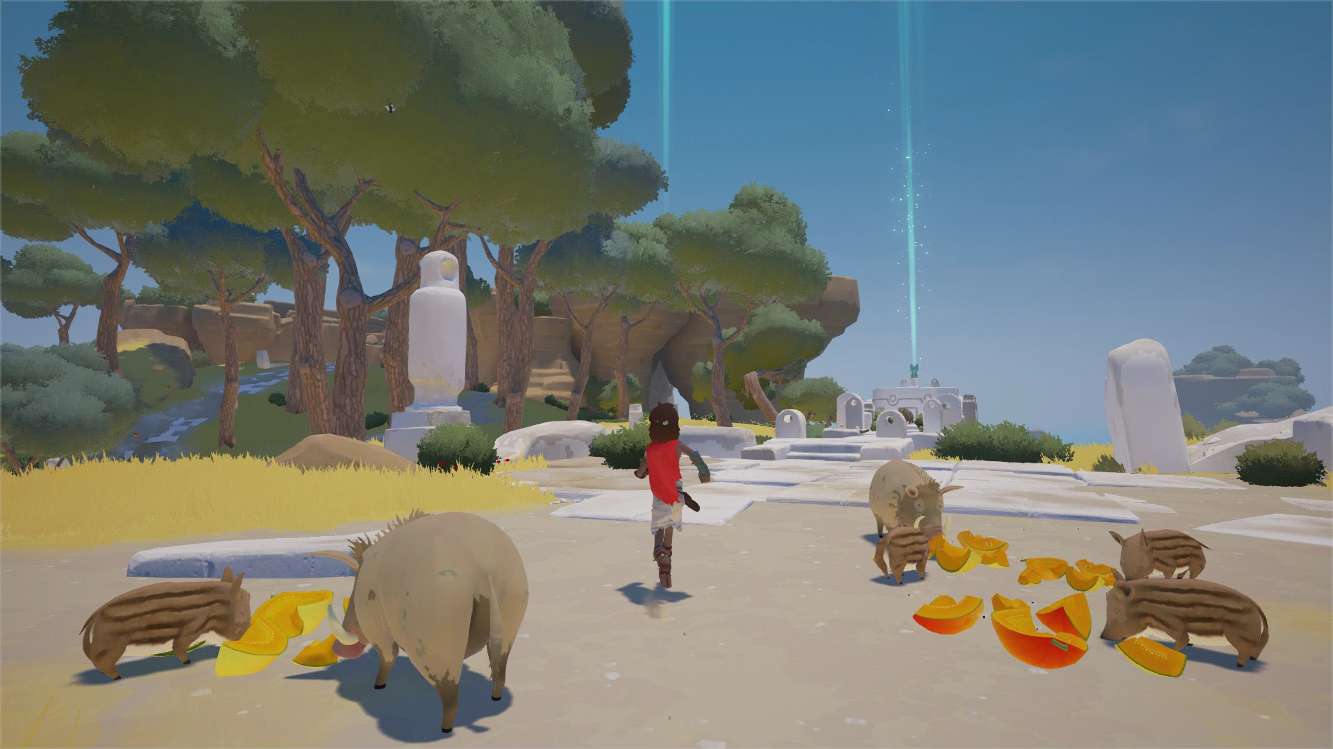 Rime follows Minecraft as latest Switch game that runs at 720p on both tablet and TV screenshot