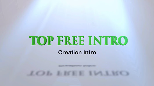 Creation Free Intro Template After Efercts | topfreeintro.com