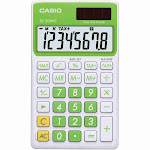 Casio SL-300VC Standard Function Calculator Green