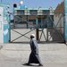 A gate was closed Friday at a United Nations Relief and Works Agency food center in the Gaza Strip. Protesters opposed the end of a cash aid program.