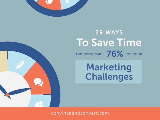 29 Ways to Save Time and Overcome Your Marketing Challenges | Convince and Convert: Social Media Strategy and Content Marketing Strategy