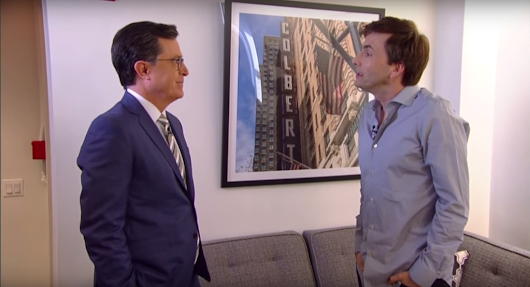 Stephen Colbert and David Tennant Play 'DOCTOR WHO's on First' | Nerdist
